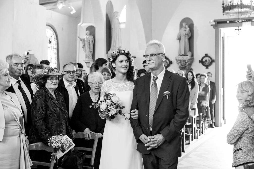 photographe de mariage église de lamorlaye