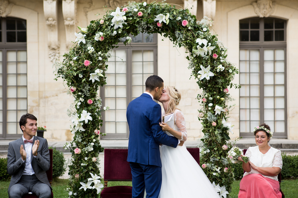 photographe mariage château ermenonville oise cérémonie laïque