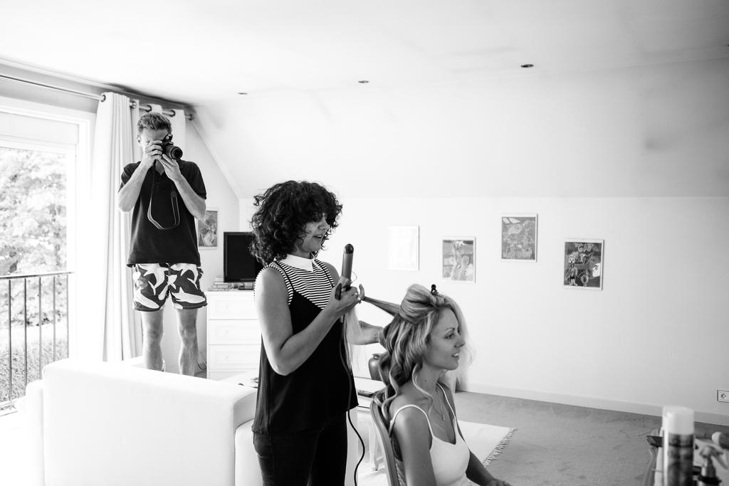 photographe mariage château ermenonville oise préparatifs de la mariée