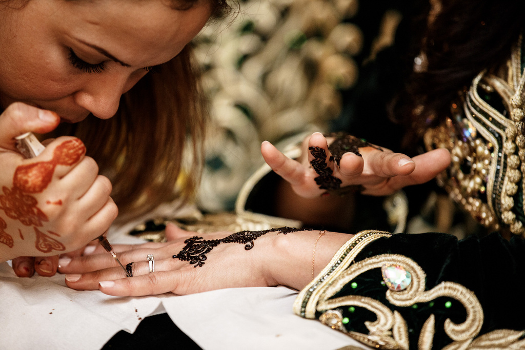 mariage oriental au Pavillon de la Comtesse cérémonie henné
