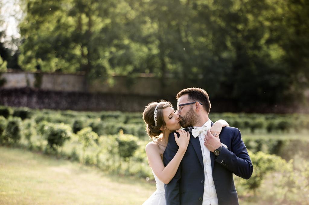 mariage au chateau de la trye photos de couple