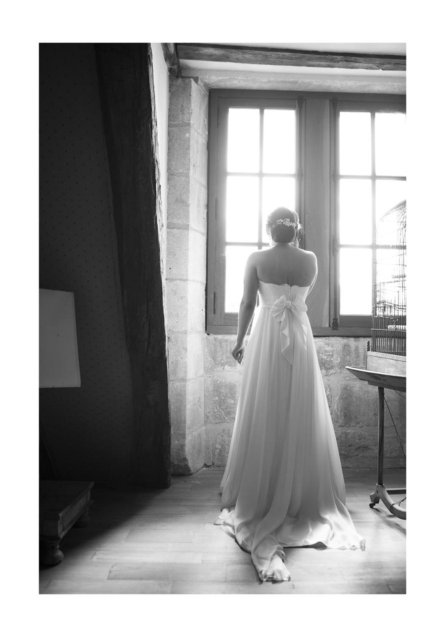photographe mariage au château de sauveboeuf en dordogne