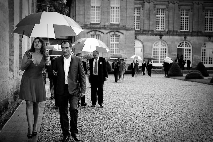 photos des invités - château de Boury en Vexin