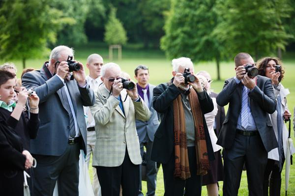 mariage invités photographie