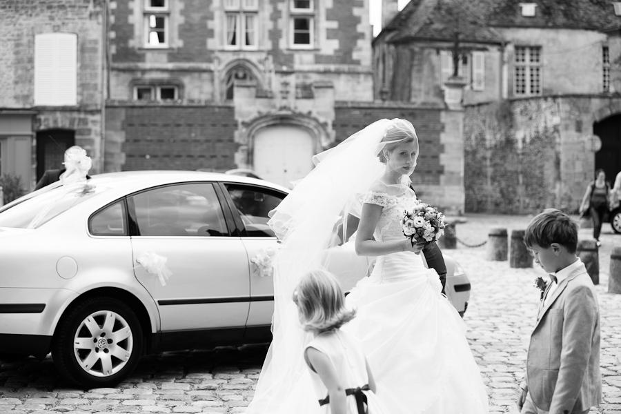 mariage au château de pontarmé dans l'oise