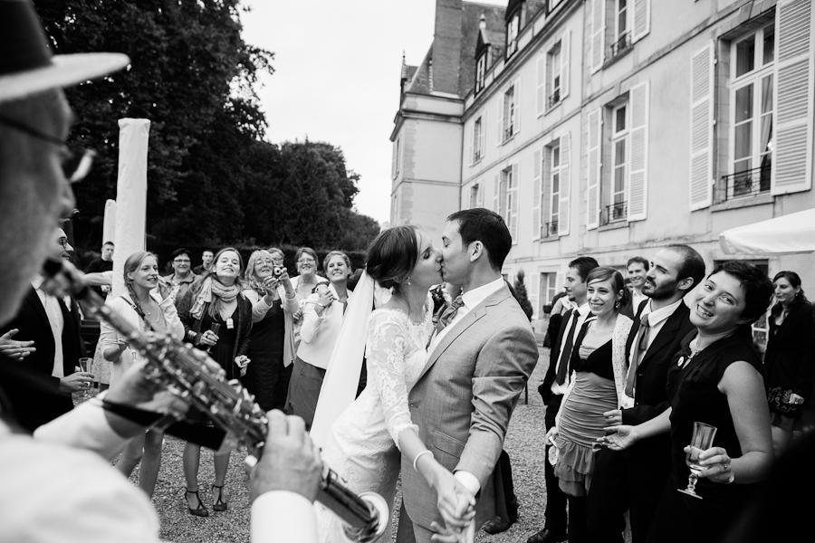 photographe mariage au château d'aveny
