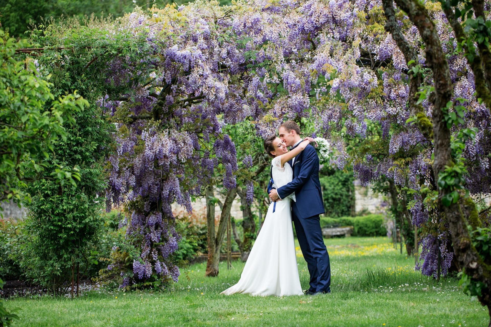 photographe de mariage à l'abbaye de morienval  dans l'oise
