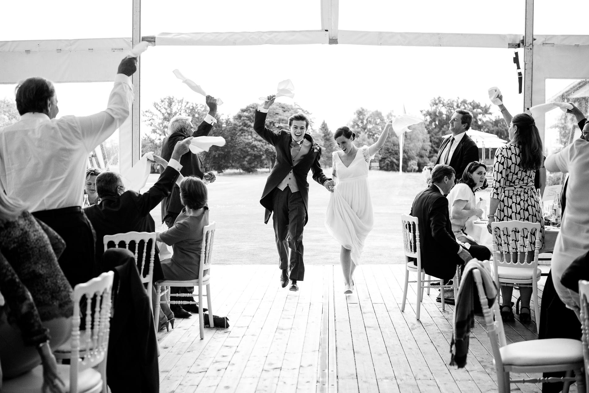 photos de mariage au golf de chantilly