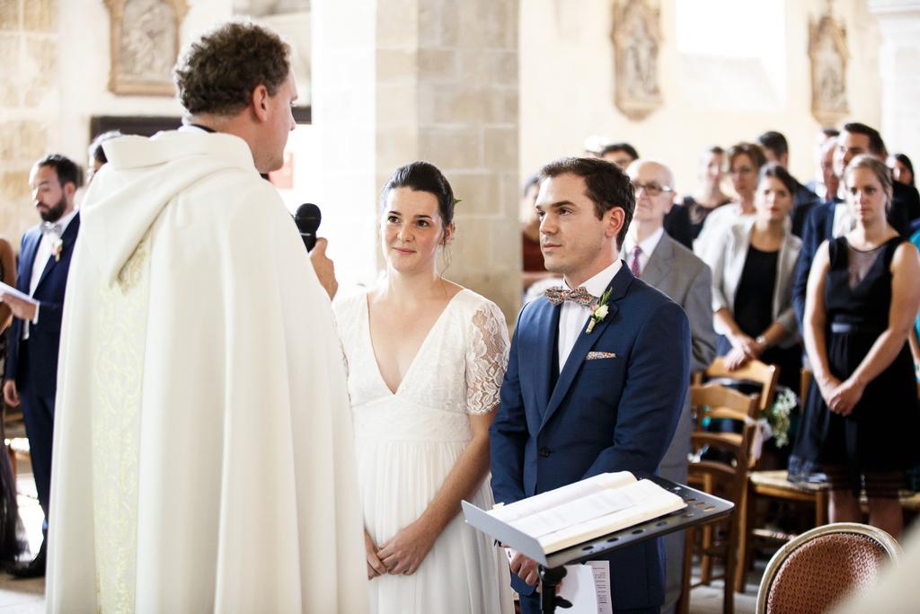 photographe mariage à l'église de compiègne dans l'Oise