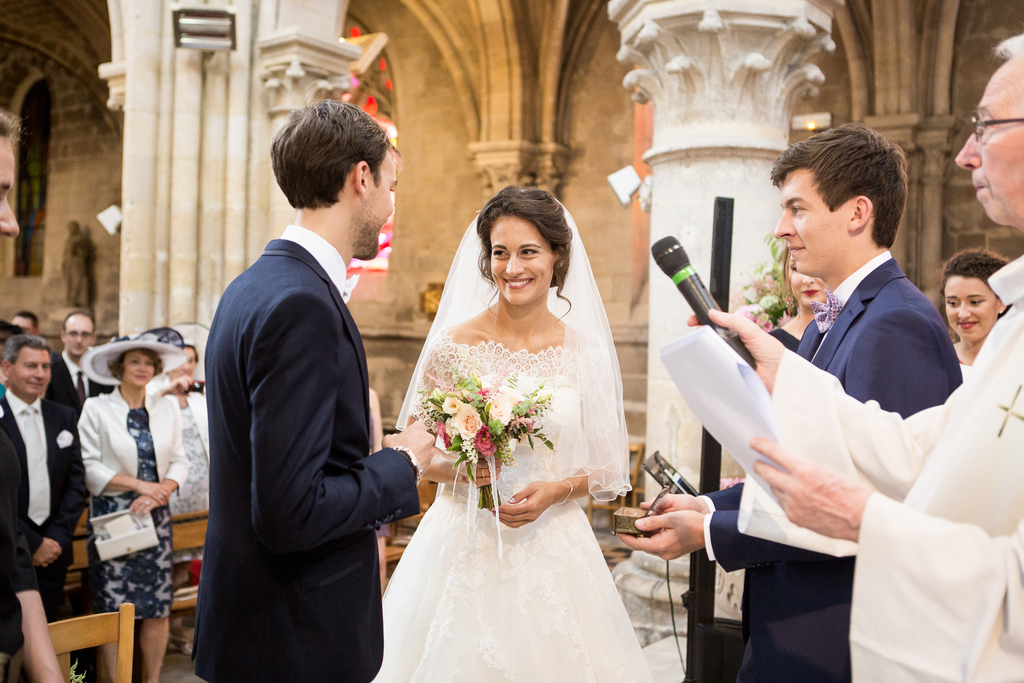 Mariage à l'Abbaye de Chaalis dans l'oise