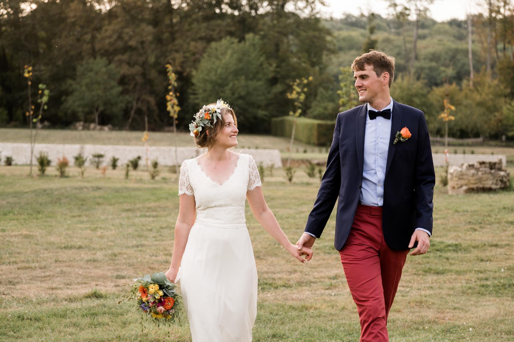 photos de couple Mariage au Domaine du château de Verderonne